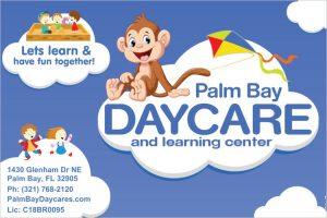 new daycare sign palm bay daycare