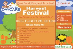 Fall Festival - Palm Bay Daycre